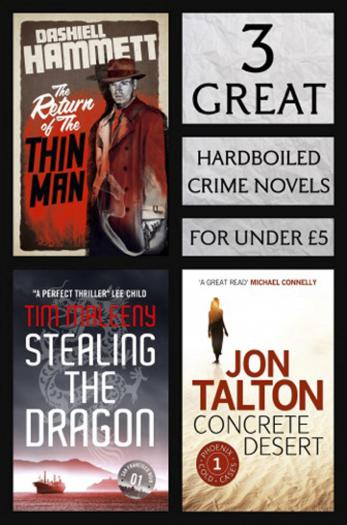 3 Great Hardboiled Crime Novels