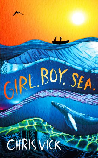 Girl. Boy. Sea.