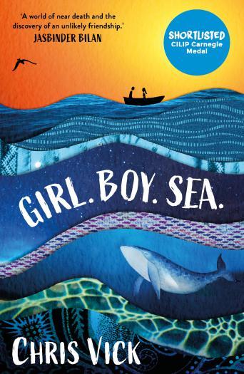 Girl. Boy. Sea.