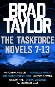 Taskforce Novels 7-13 Boxset